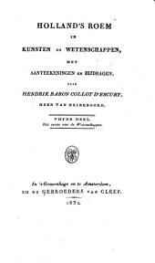 Hollands roem in kunsten en wetenschappen. Met register: Volume 5