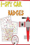 I SPY Car Badges PDF