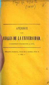 Observaciones meteorolójicas hechas en el Observatorio Astronómico de Santiago: 1870 (1872)
