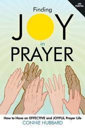 Finding Joy in Prayer