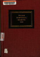 Address to the People of the State of Arkansas  and Proposed Constitution   PDF