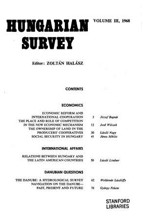 Hungarian Survey PDF