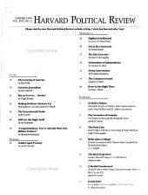 Harvard Political Review PDF