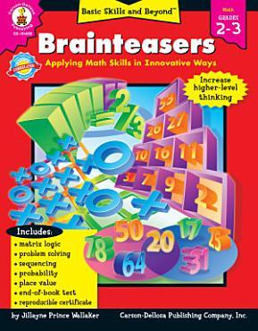 Brainteasers  Grades 2   3 PDF