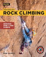 Advanced Rock Climbing PDF