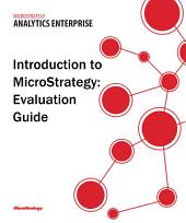 Evaluation Guide (Windows) for MicroStrategy 9.5