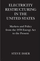 Electricity Restructuring in the United States PDF