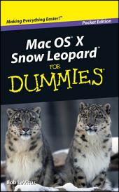 Mac OS X Snow Leopard For Dummies, Pocket Edition