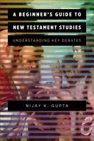 A Beginner s Guide to New Testament Studies PDF