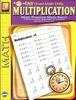 Easy Timed Math Drills: Multiplication