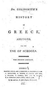 Dr. Goldsmith's History of Greece, abridged, for the use of schools