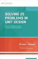 Solving 25 Problems in Unit Design PDF