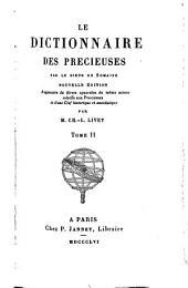 Le dictionnaire des precieuses: Volume2