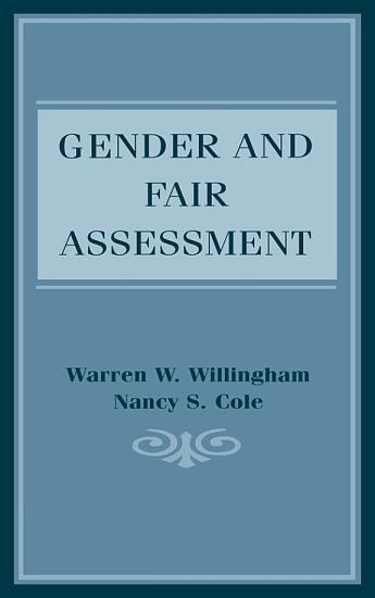 Gender and Fair Assessment PDF