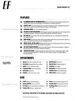 The Executive Female PDF