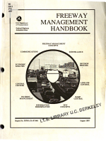 Freeway Management Handbook PDF