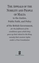 The Appeals of the Nobility and People of Malta