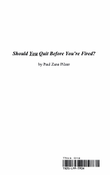 Should You Quit Before You re Fired  PDF