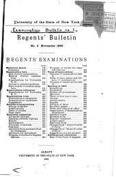 Examination Bulletin: Volumes 1-5