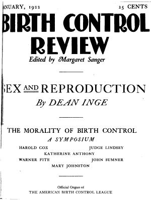 The Birth Control Review PDF
