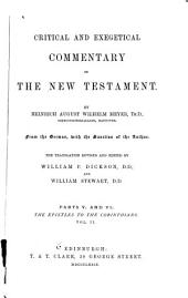 Critical and Exegetical Commentary on the New Testament: John