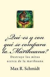¿Qué es y con qué se compara la Marihuana?: Destruye los mitos acerca de la marihuana