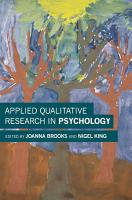 Applied Qualitative Research in Psychology PDF