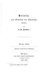 Herders sämmtliche Werke: Band 11