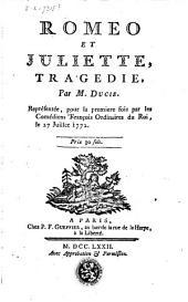 Roméo et Juliette: tragédie