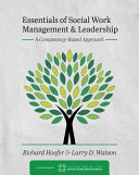 Essentials of Social Work Management and Leadership PDF