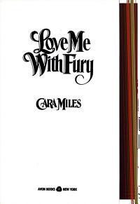 Love Me with Fury PDF