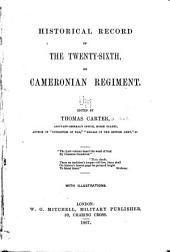 Historical Record of the Twenty-sixth: Or Cameronian Regiment