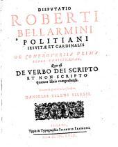 Disputatio de verbo Dei scripto et non scripto