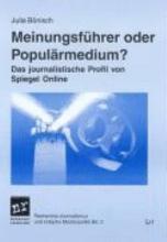 Meinungsf  hrer oder Popul  rmedium  PDF