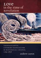 Love in the Time of Revolution PDF