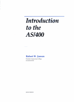 Introduction to the AS 400 PDF