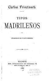 Tipos madrileños: cuadros de costumbres