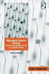 Managing Cultural Change Book PDF