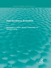 Post Occupancy Evaluation  Routledge Revivals  PDF