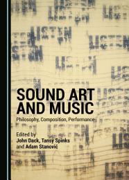 Sound Art and Music