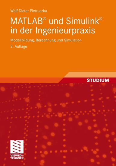 MATLAB   und Simulink   in der Ingenieurpraxis PDF