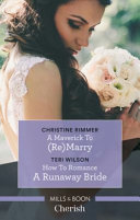 Cherish Duo  a Maverick to  Re marry and How to Romance a Runaway Bride PDF