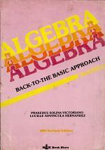 Algebra Back-To-The-Basic Appraoch