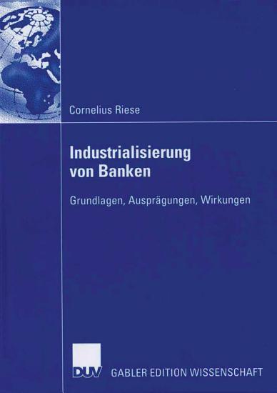 Industrialisierung von Banken PDF