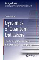 Dynamics of Quantum Dot Lasers PDF