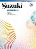 Suzuki Violin School  Vol 8  Violin Part  Book   CD PDF