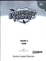 Language Power: Grades 3-5 Level B Teacher's Guide