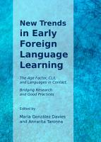 New Trends in Early Foreign Language Learning PDF