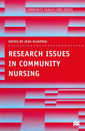 Research Issues in Community Nursing PDF