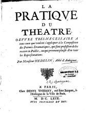 La pratique du théâtre